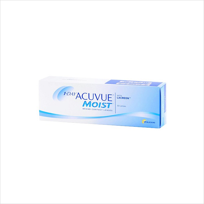 Acuvue 1 Day Moist 30 Pack